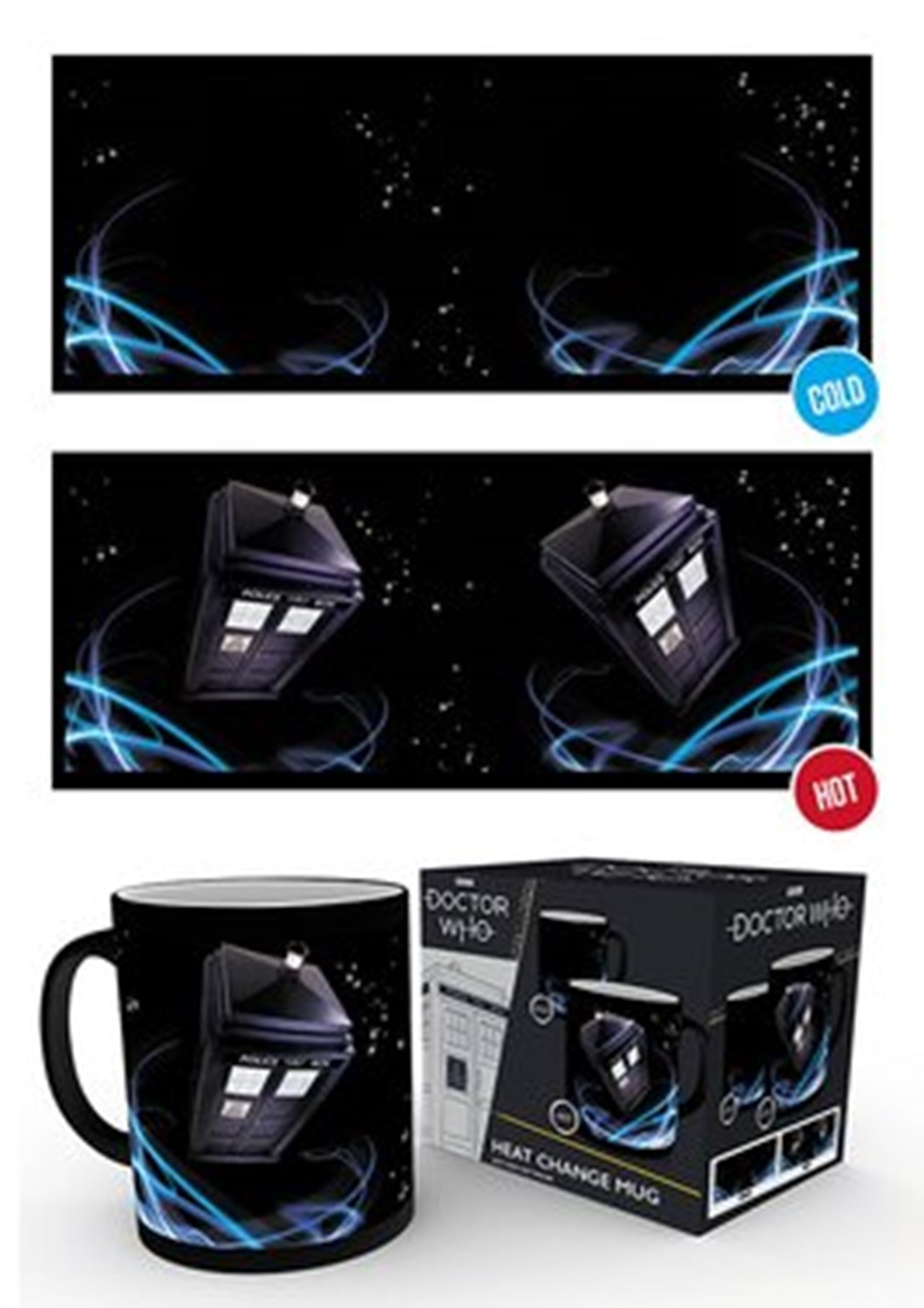Doctor Who: Tardis Heat Change Mug - 1