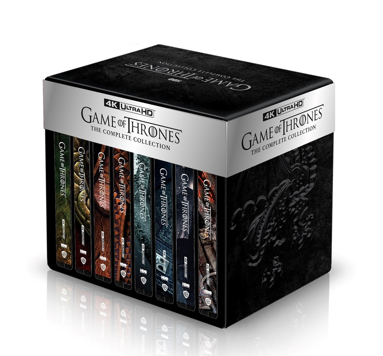 Game of Thrones: The Complete Seasons 1-8 Limited Edition 4K Ultra HD Steelbook Collection - 2