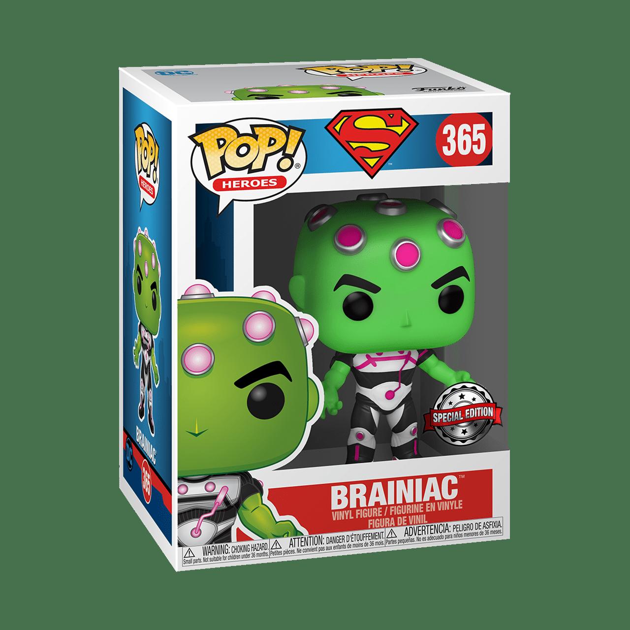 Brainiac (365) DC Comics (hmv Exclusive) Pop Vinyl - 2