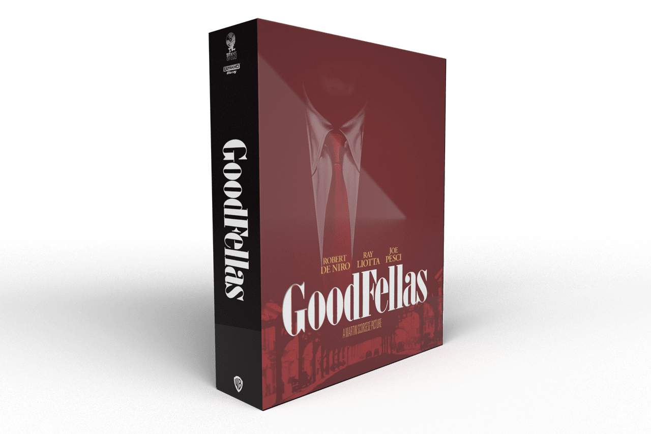 Goodfellas Titans of Cult Limited Edition 4K Steelbook - 2