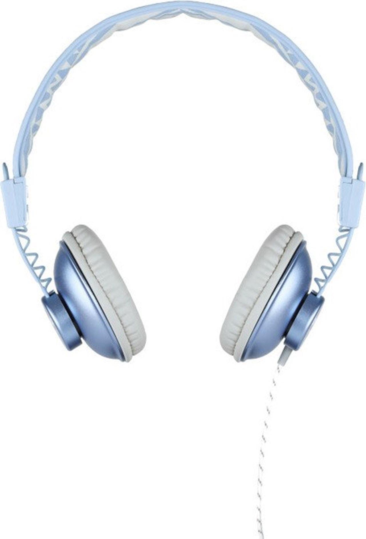 House Of Marley Positive Vibration Blue Hemp Headphones W/Mic (hmv Exclusive) - 2