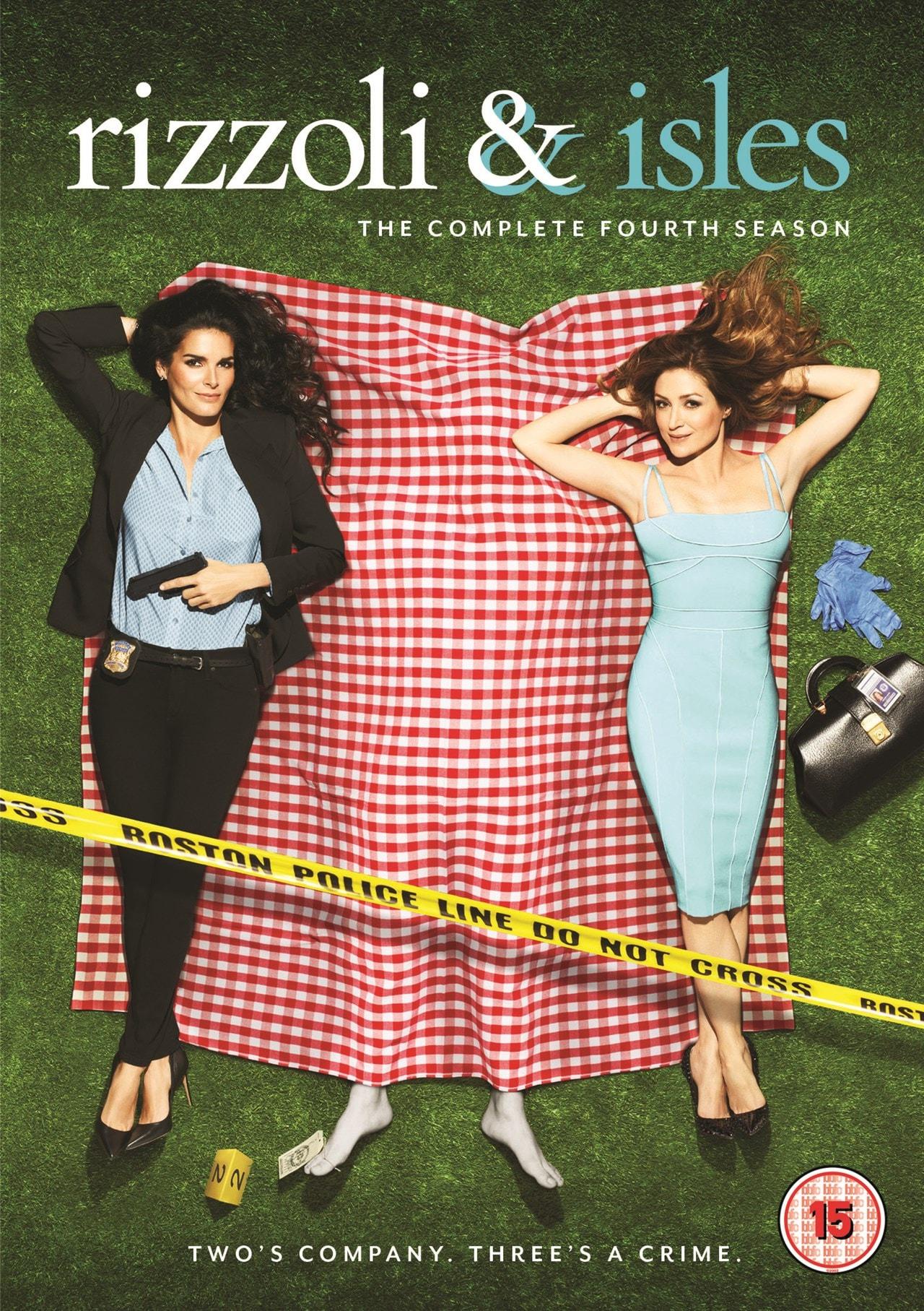 Rizzoli & Isles: The Complete Fourth Season - 1