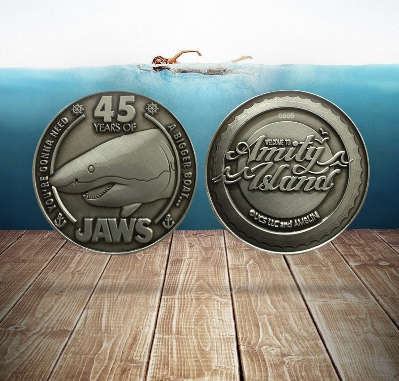 Jaws: 45th Anniversary Coin - 2