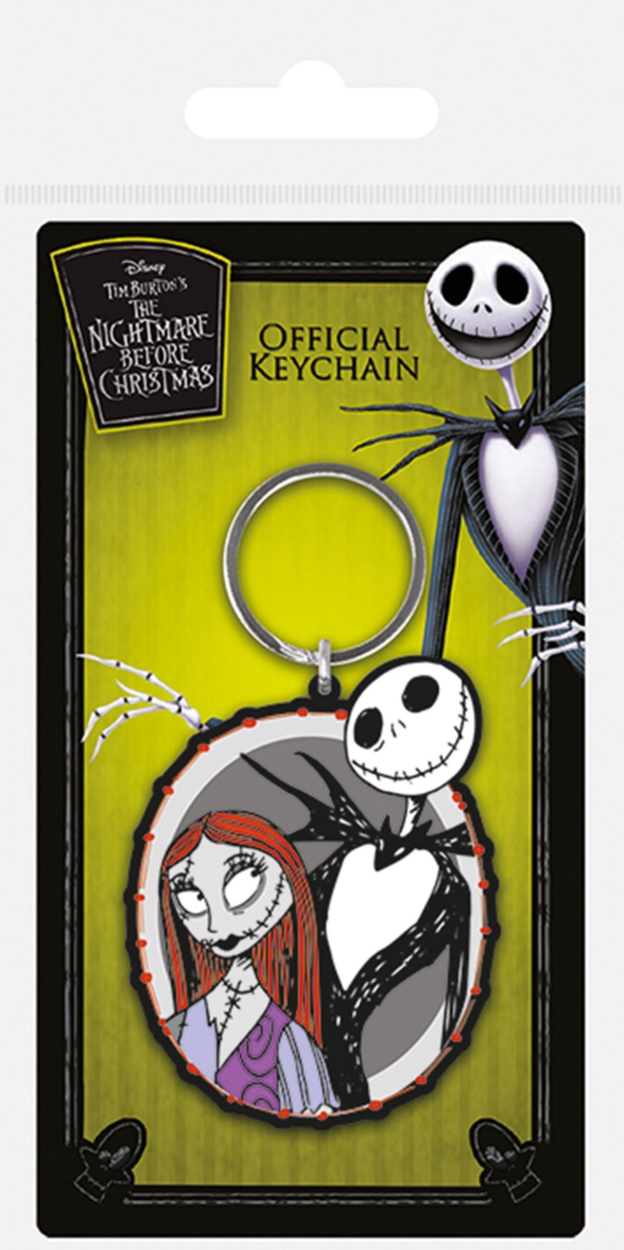 Nightmare Before Christmas Jack & Sally Keyring - 1