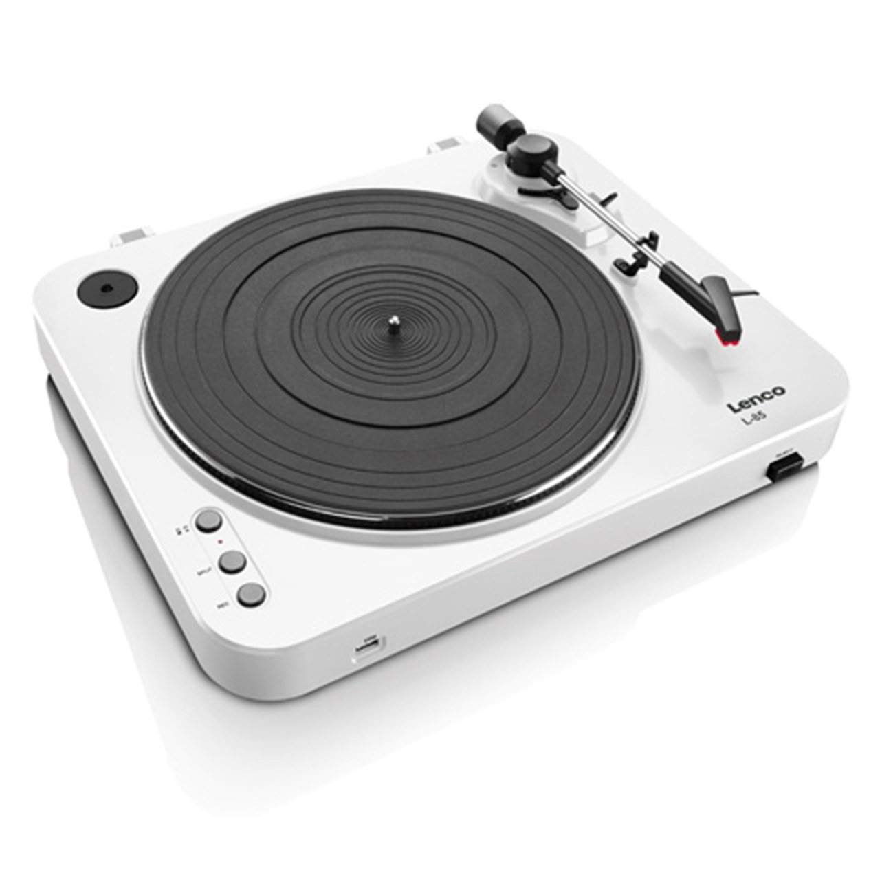 Lenco L-85 White USB Turntable - 4