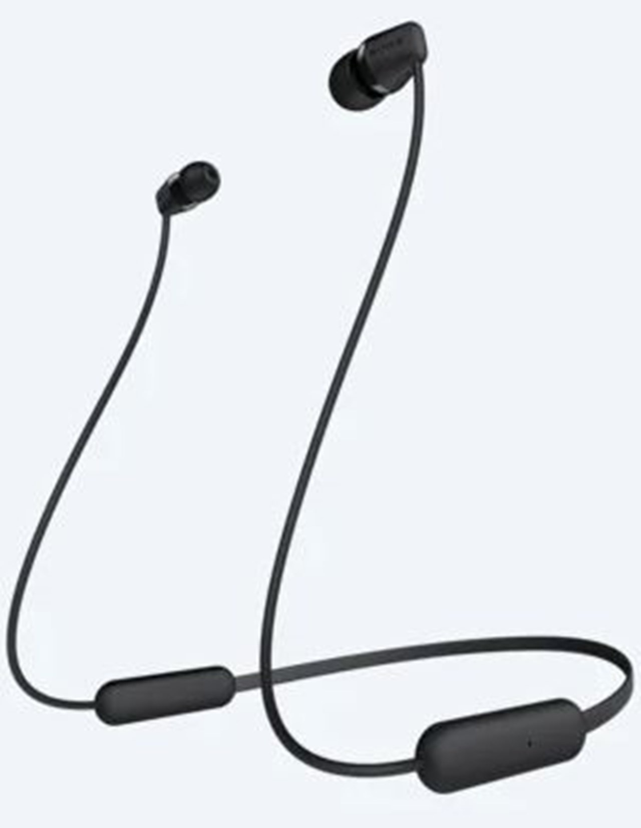 Sony WI-C200 Black Bluetooth Earphones - 1