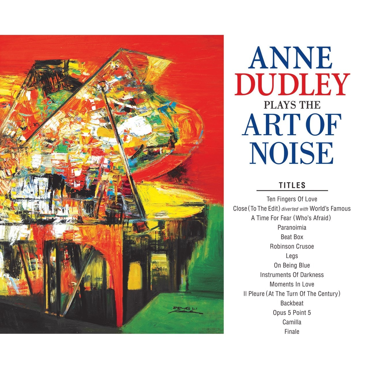 Anne Dudley Plays the Art of Noise - 1