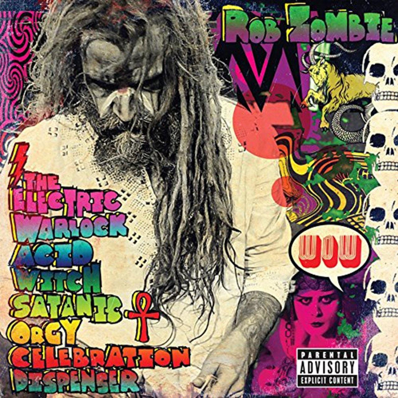 The Electric Warlock Acid Witch Satanic Orgy Celebration - 1