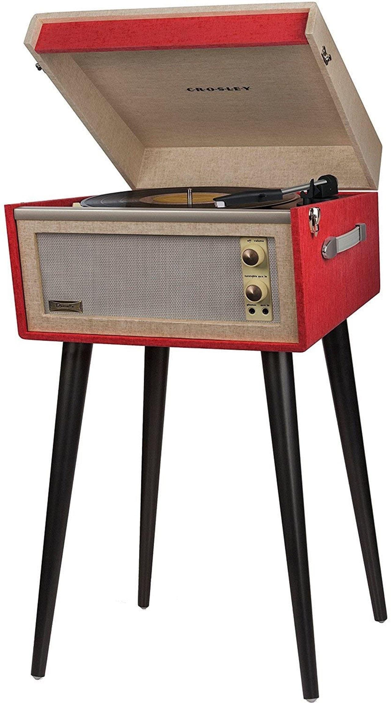 Crosley Bermuda Red Turntable - 1