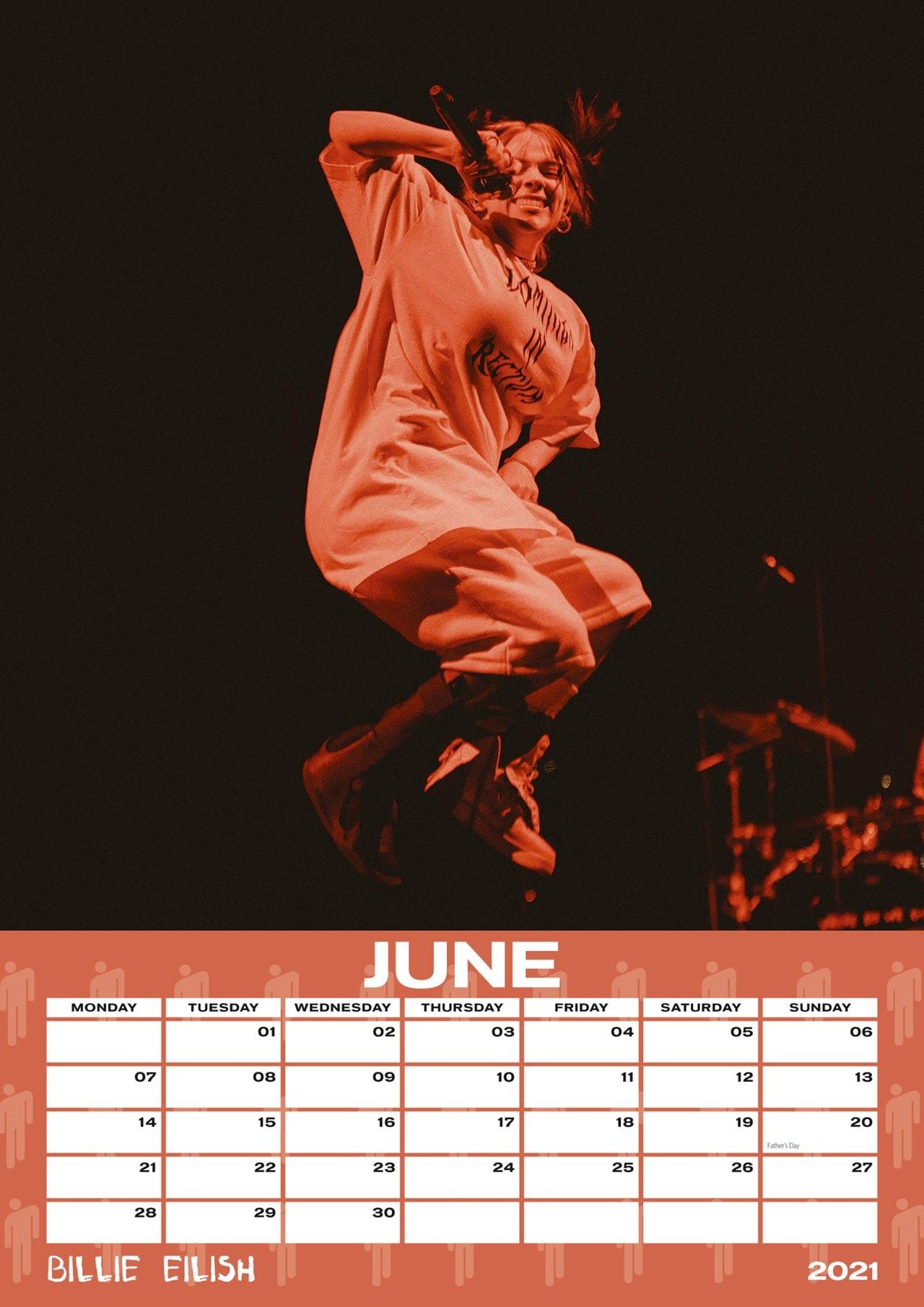 Billie Eilish: A3 2021 Calendar - 2