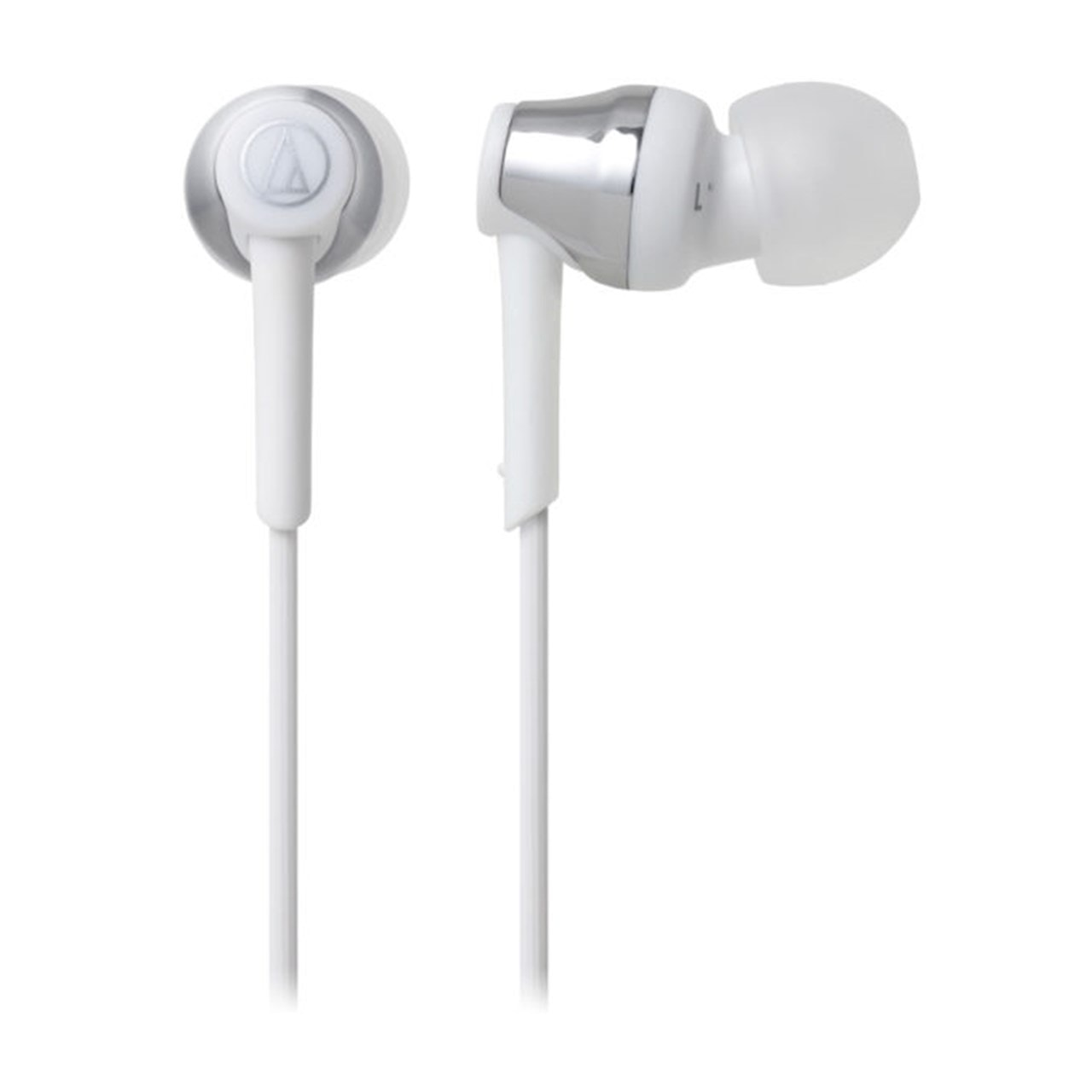 Audio Technica ATH-CKR35BT White and Silver Bluetooth Earphones - 2