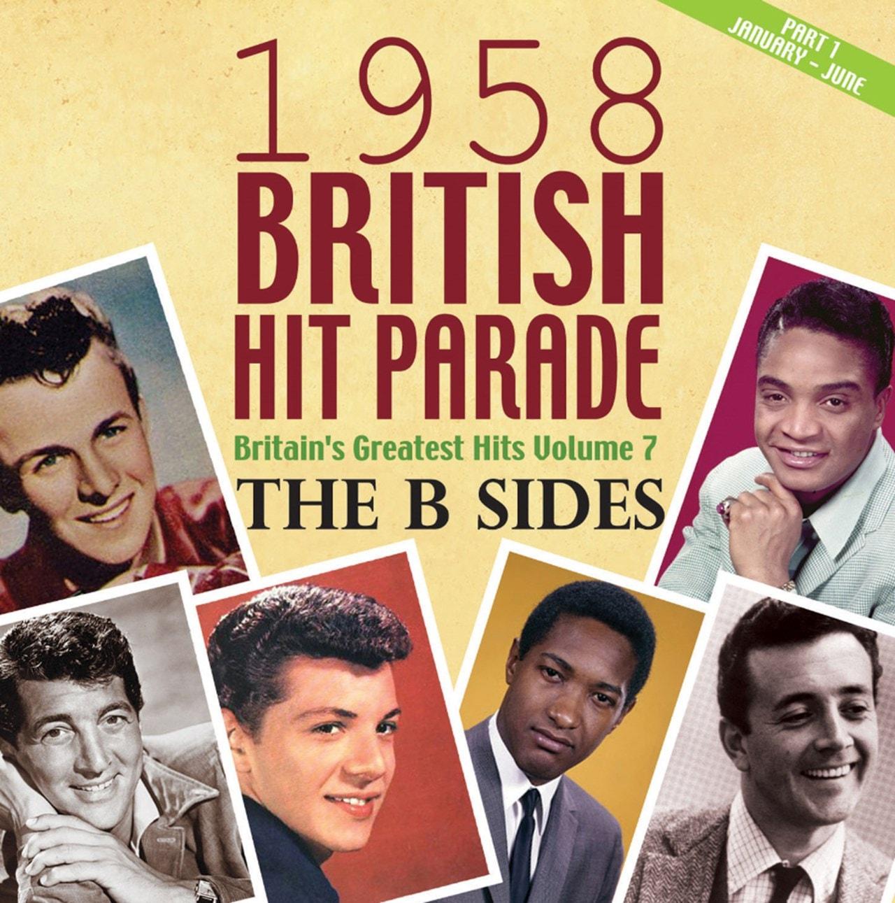 1958 British Hit Parade: The B Sides - Volume 1 - 1