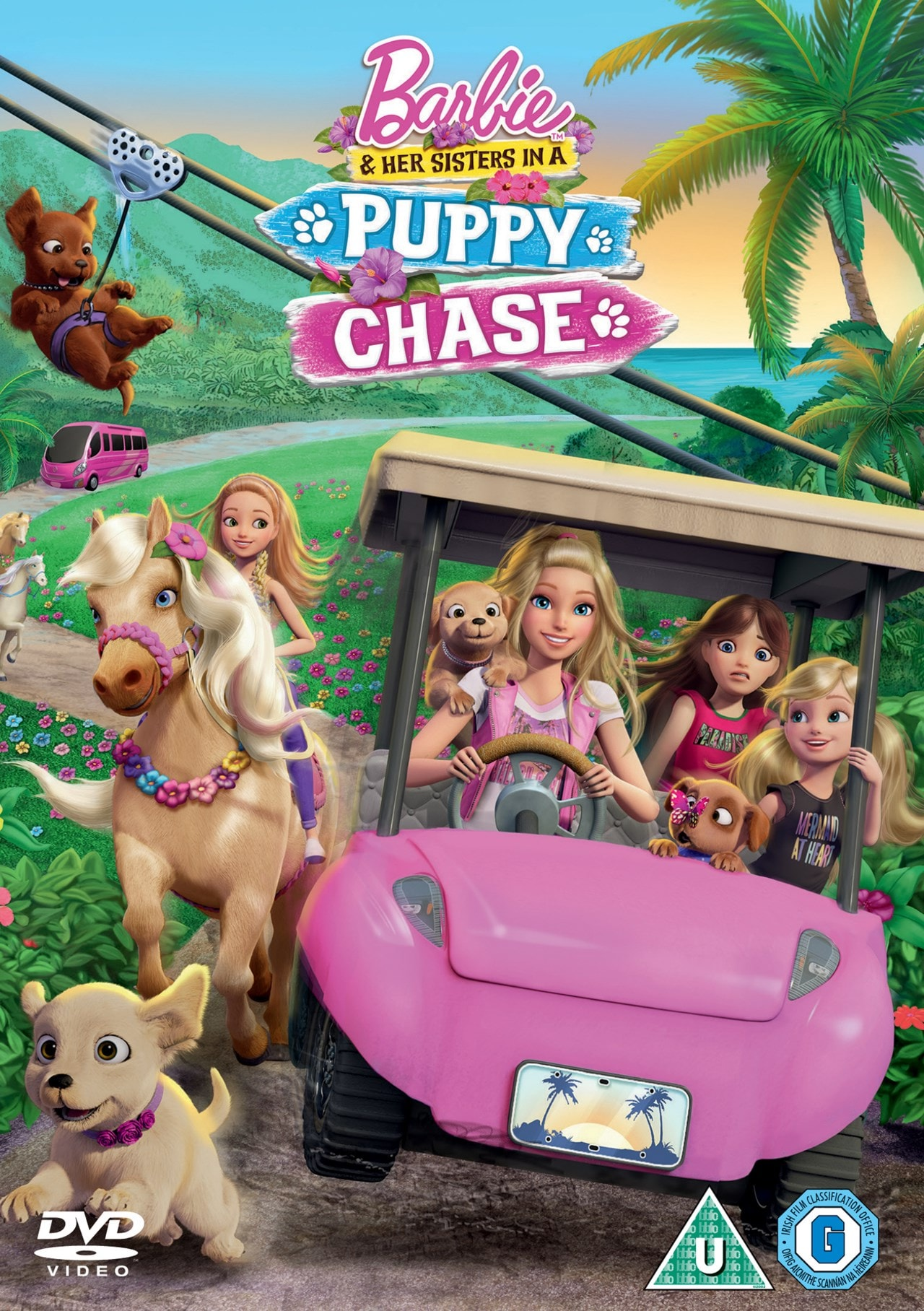 Barbie and Her Sisters in a Puppy Chase - 1