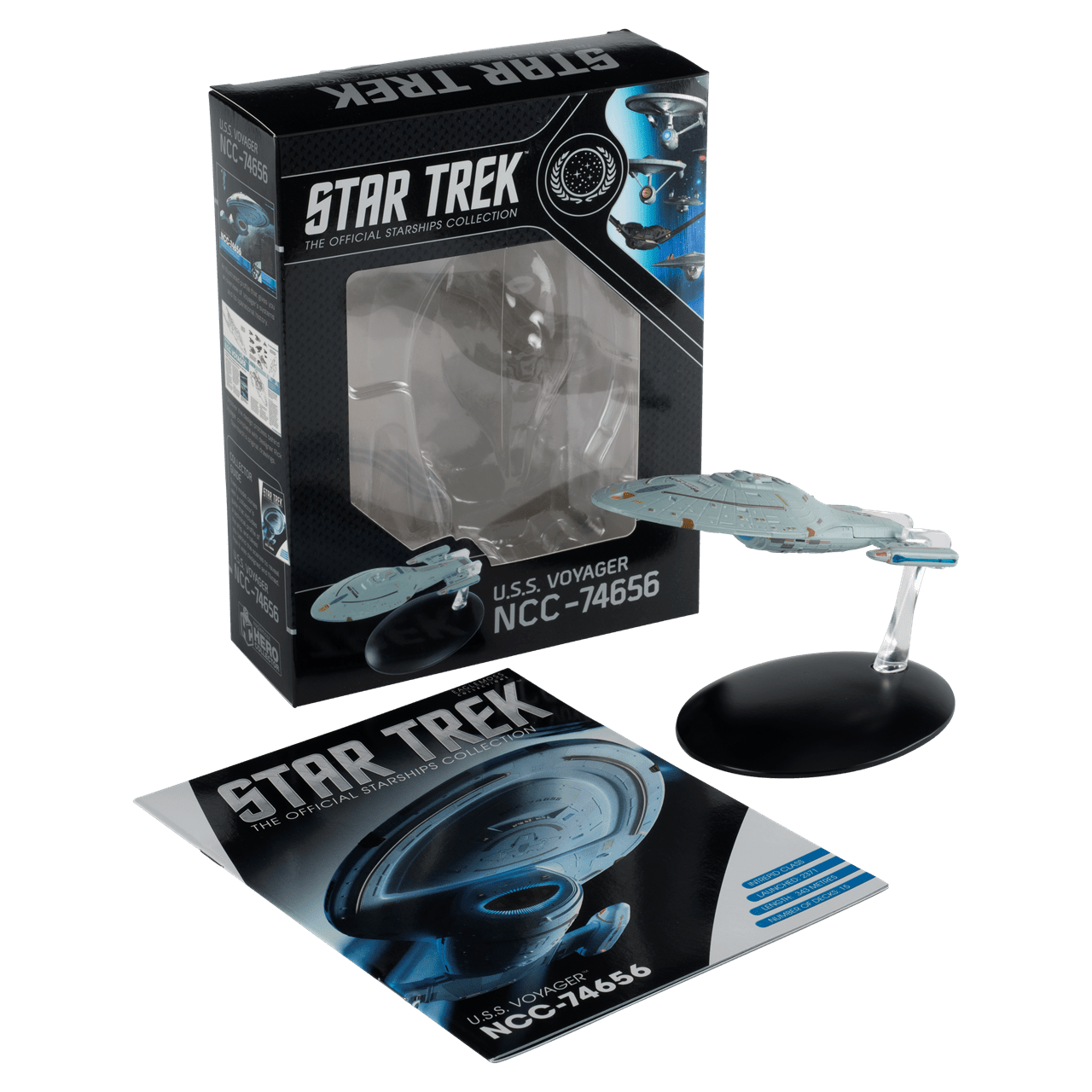 Star Trek USS Voyager: Voyager TV Series: Hero Collector - 1