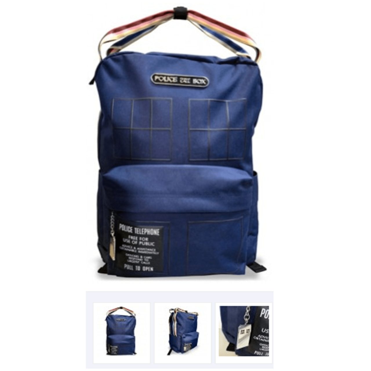 Doctor Who: Tardis Deluxe Backpack - 1
