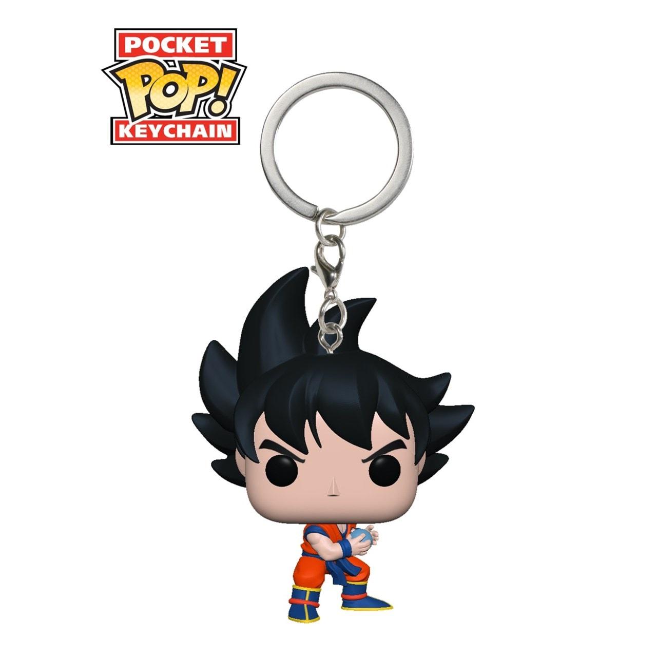 Goku With Kamehameha: Dragon Ball (hmv Exclusive) Pop Vinyl Key Chain - 1