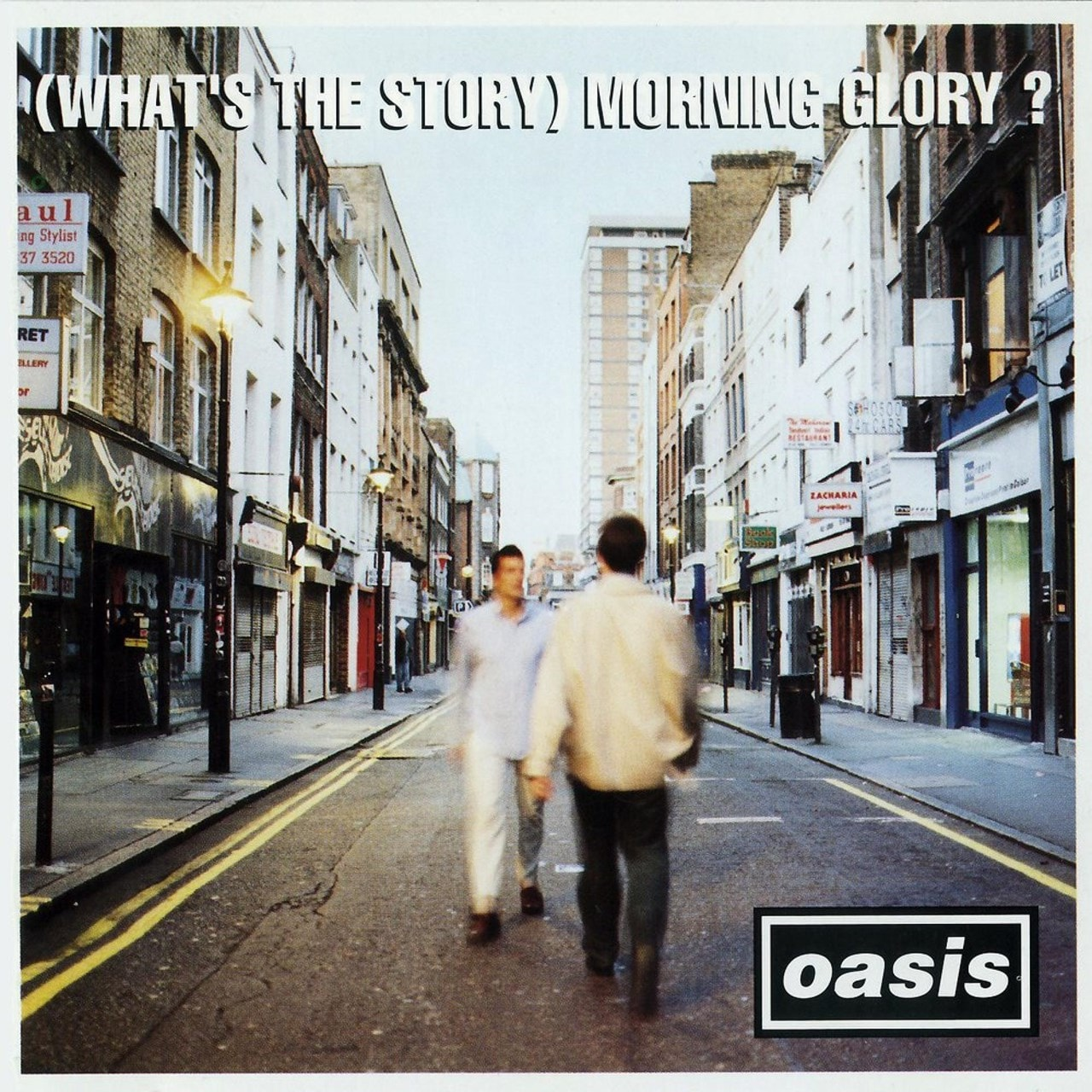 (What's the Story) Morning Glory? - 25th Anniversary Limited Edition Silver Vinyl - 2