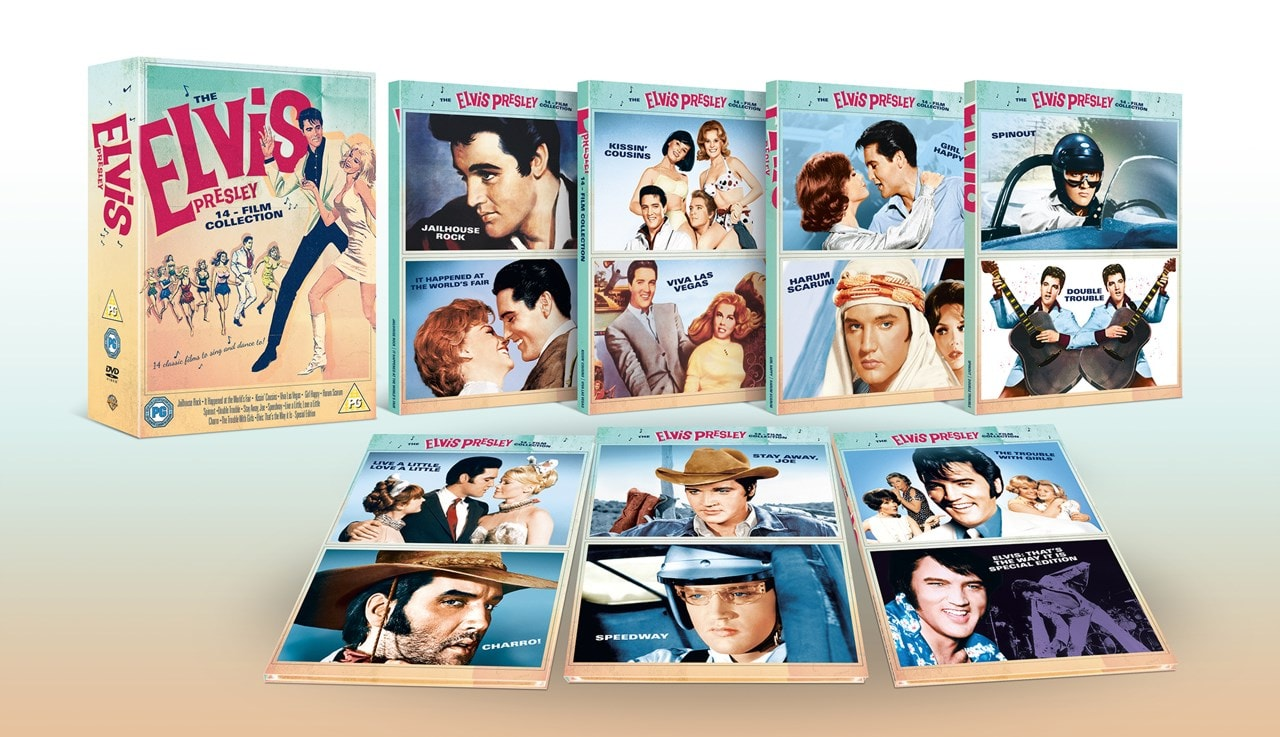The Elvis Presley 14-film Collection - 3