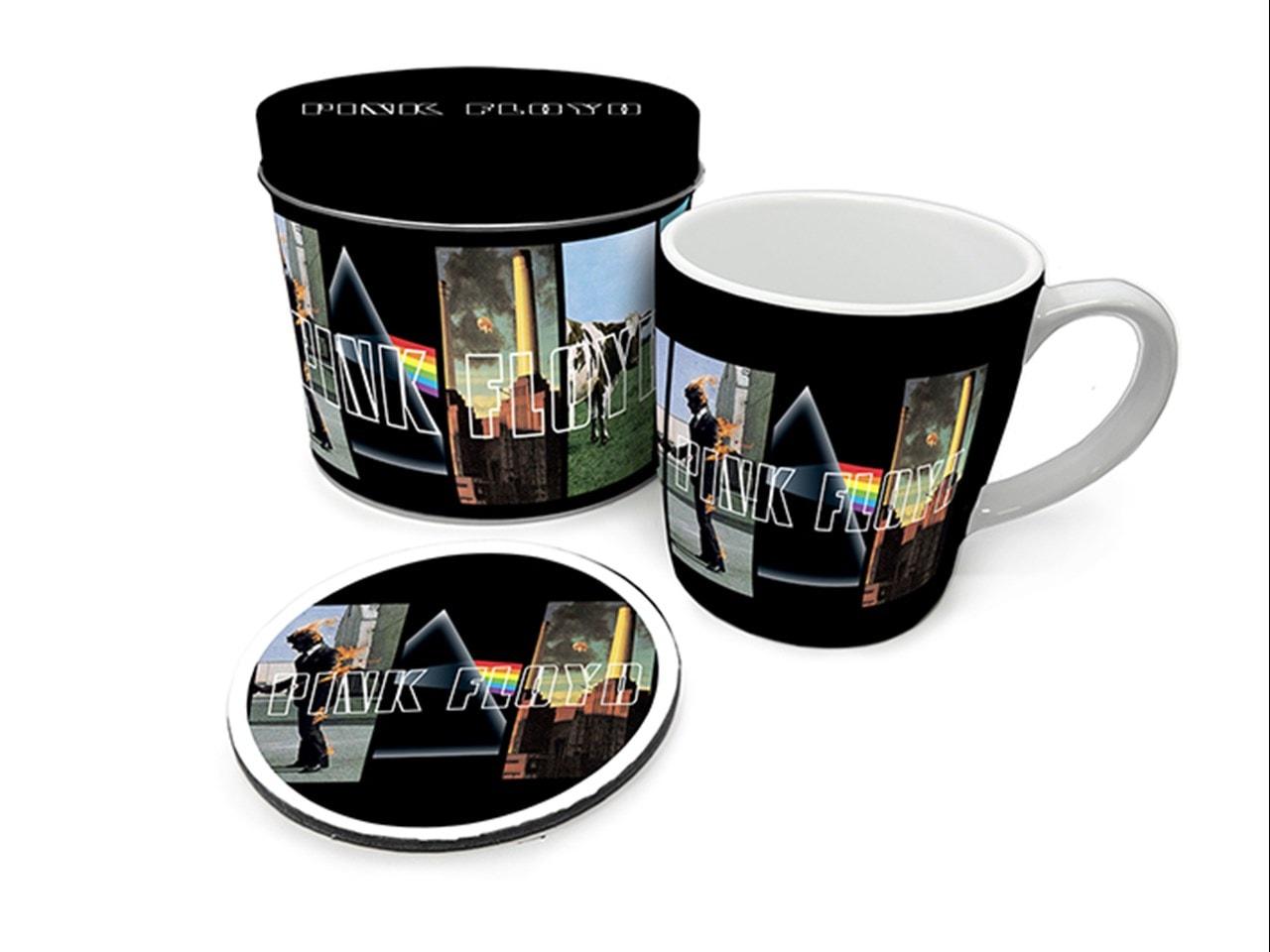 Pink Floyd Mug Gift Set in Tin - 1