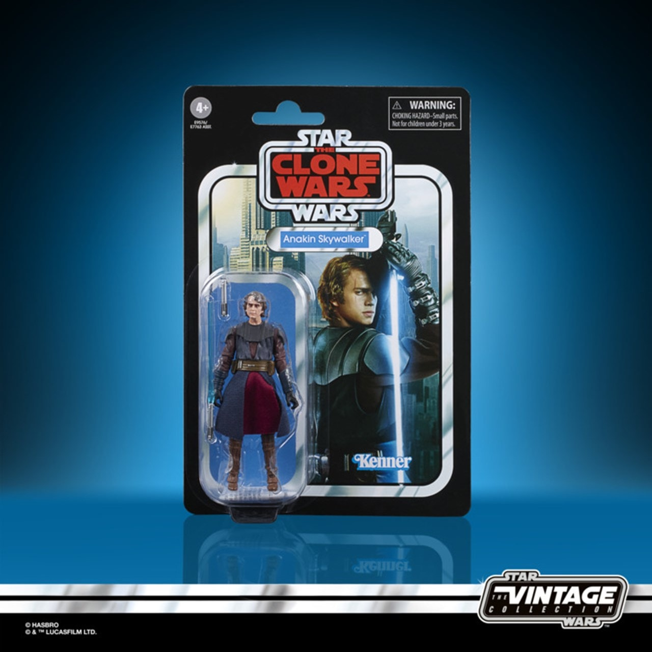 Anakin Skywalker: Clone Wars: Star Wars Vintage Action Figure - 5