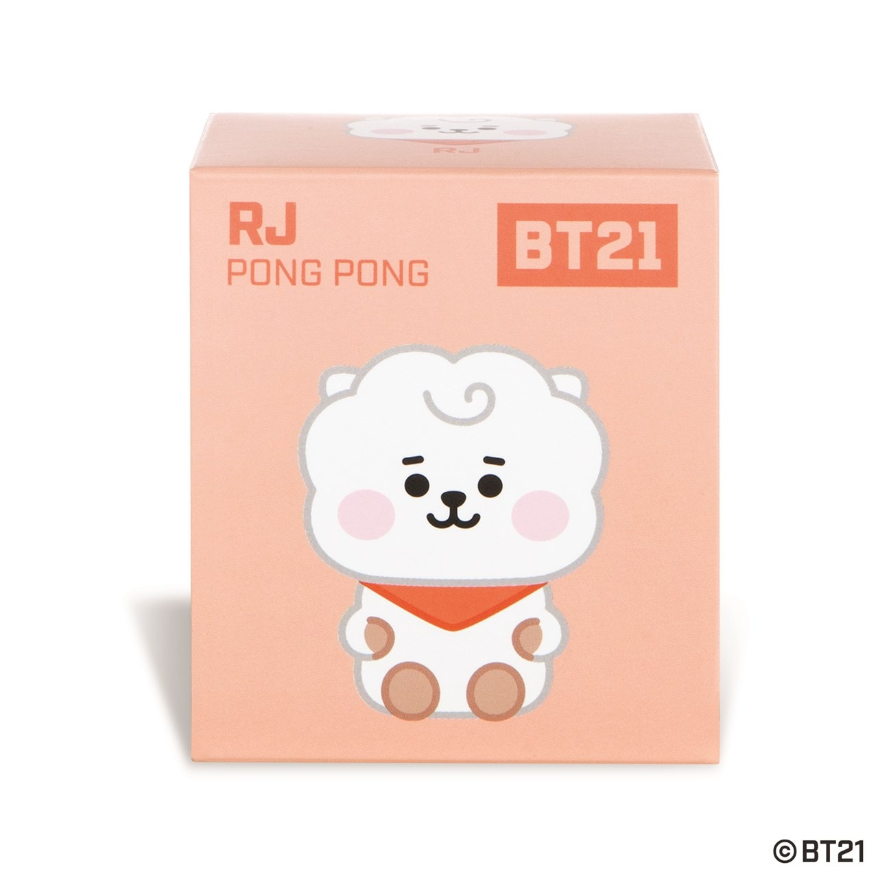 RJ Baby Pong Pong: BT21 Soft Toy - 4