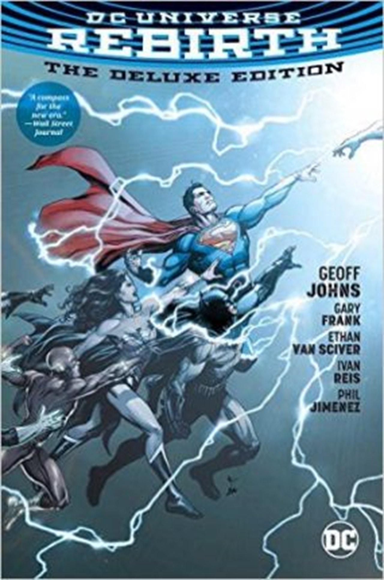 DC Universe Rebirth Deluxe Edition Hc - 1