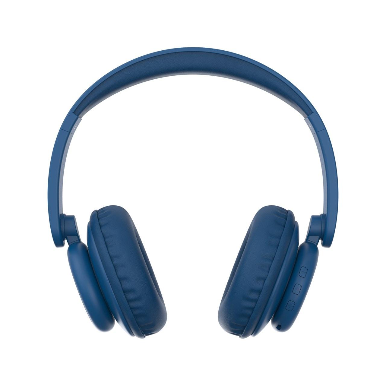 WeSC Navy Blue Bluetooth Headphones - 3