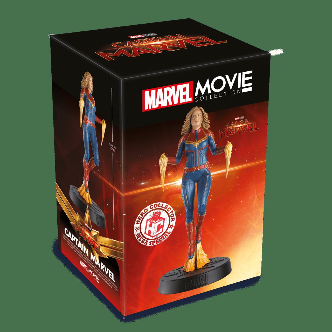 Captain Marvel: Marvel Mega Figurine (online only) Hero Collector - 5