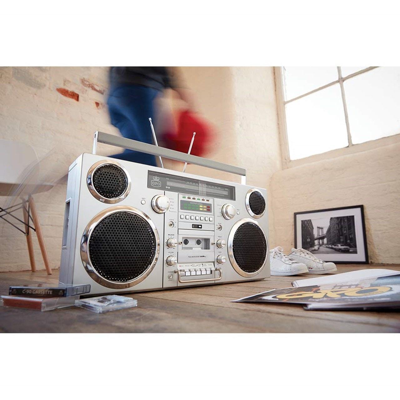 GPO Brooklyn Portable Boombox - 5