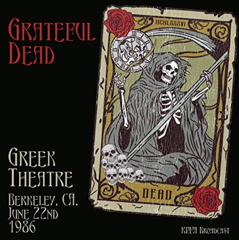 Greek Theatre, Berkeley, CA. June 22nd 1986 - 1