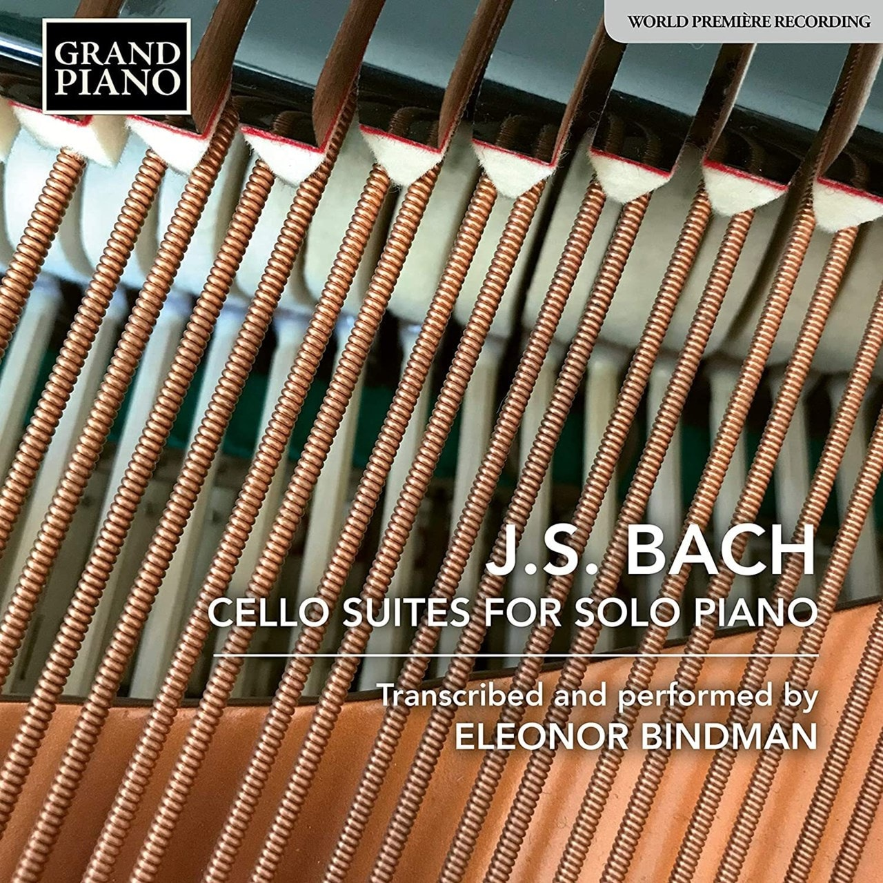 J. S. Bach: Cello Suite for Solo Piano - 1