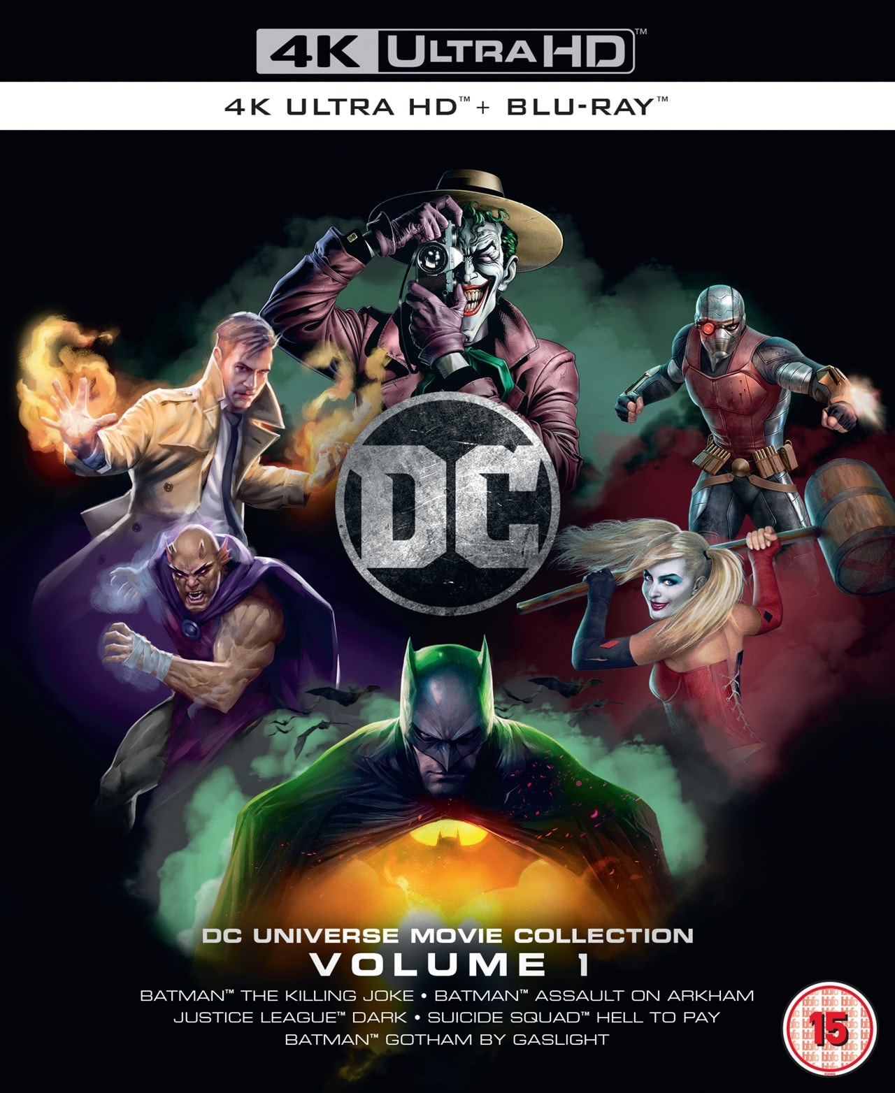 DC Animated Film Collection: Volume 1 - 1
