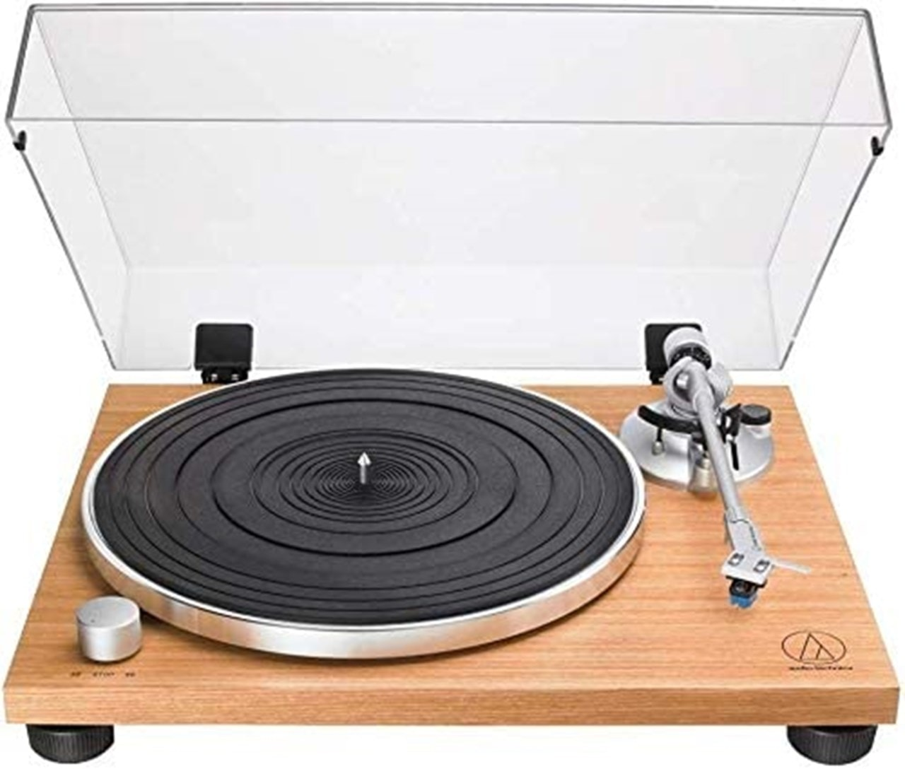 Audio Technica AT-LPW30 Wood Turntable - 1