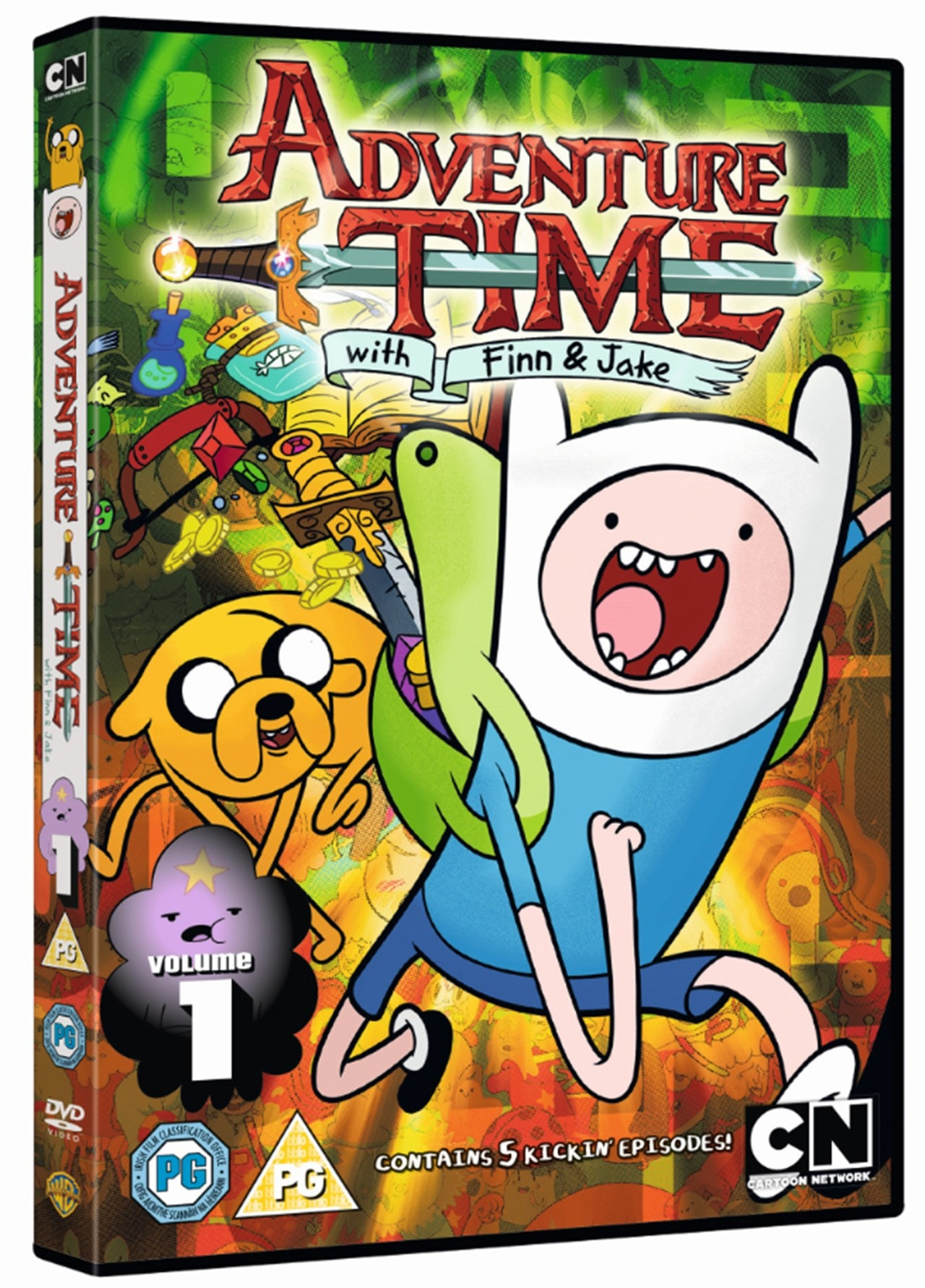 Adventure Time: Season 1 - Volume 1 - 2