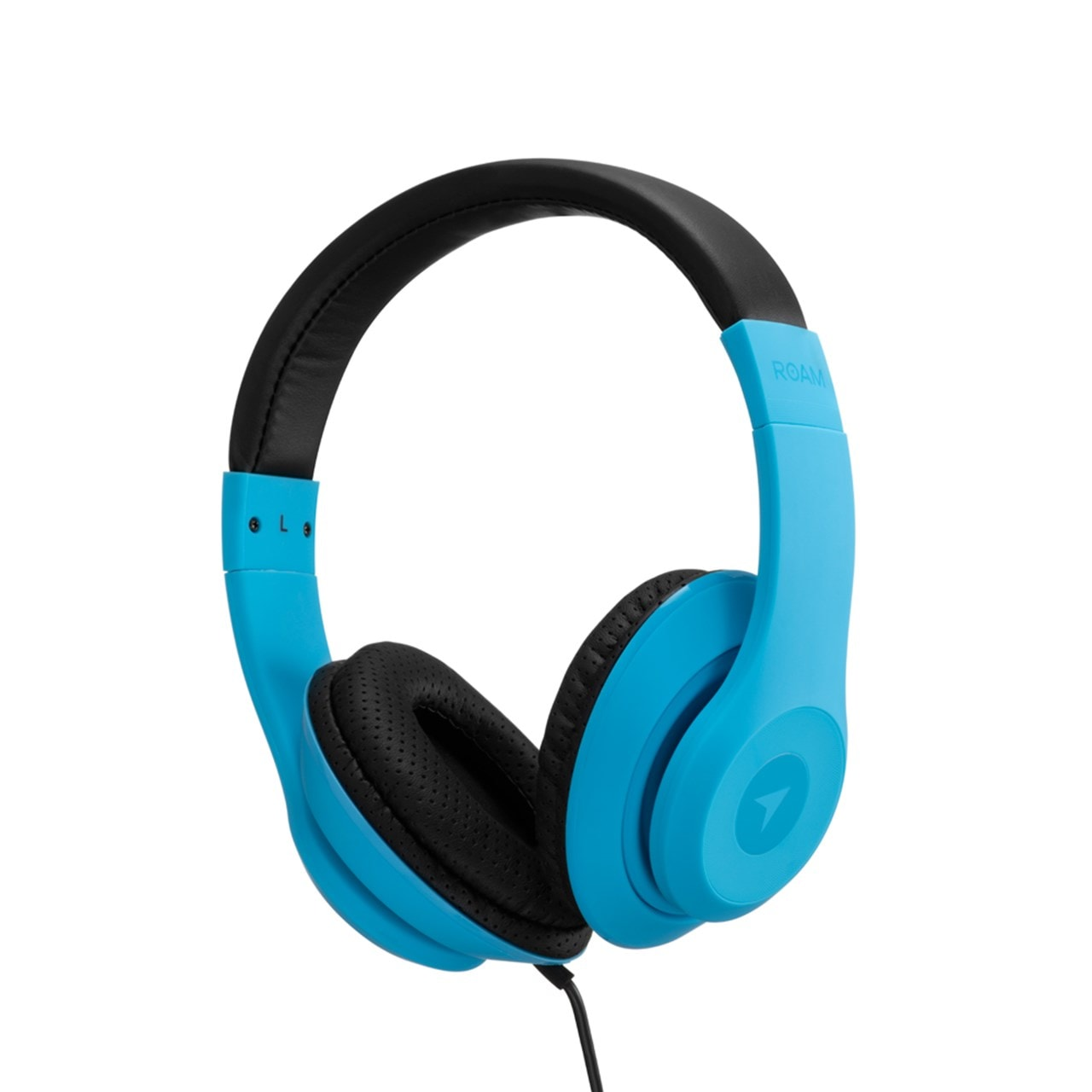Roam Colours Plus Blue Headphones W/Mic - 1
