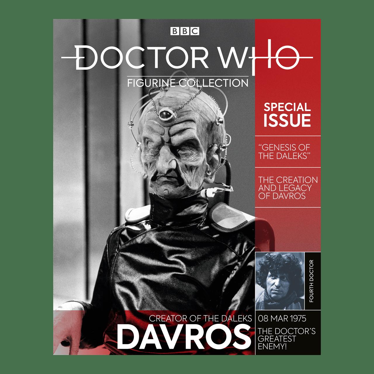 Davros: Doctor Who Mega Figurine: Hero Collector - 6
