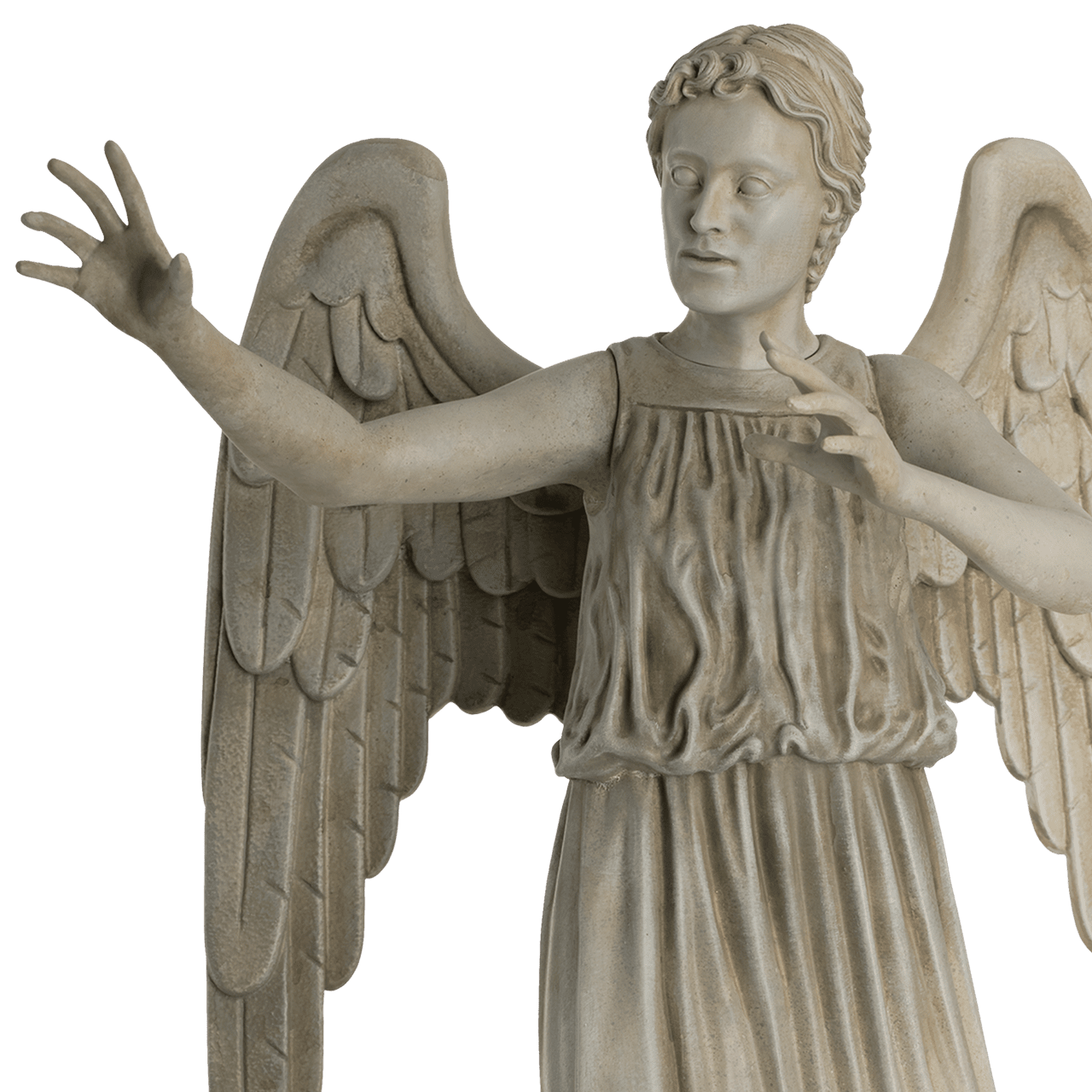 Weeping Angel: Doctor Who Mega Figurine (online only) Hero Collector - 3