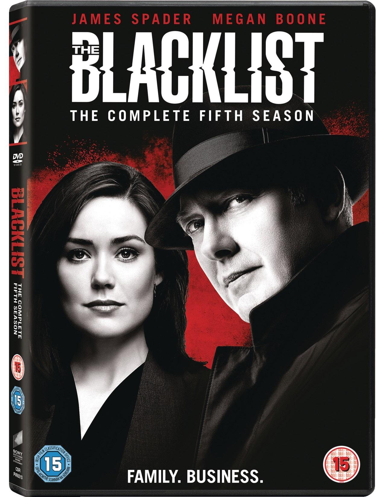 The Blacklist: The Complete Fifth Season - 2