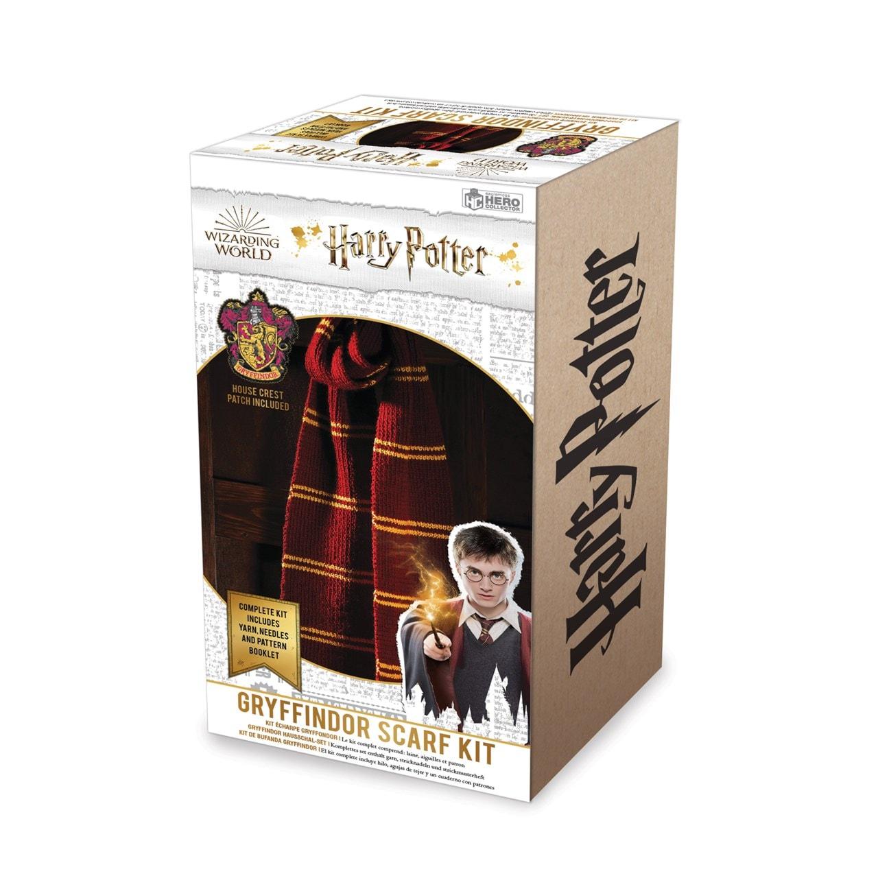 Gryffindor House Scarf: Harry Potter Knit Kit - 6