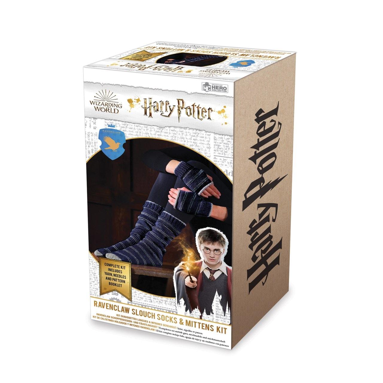 Ravenclaw Mittens & Slouch Socks: Harry Potter Knit Kit - 4