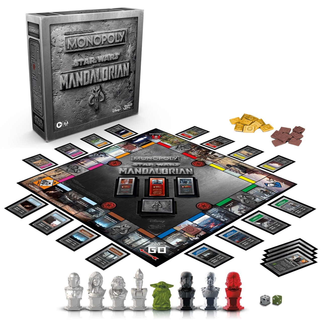 Monopoly: The Mandalorian Edition (Star Wars) - 1