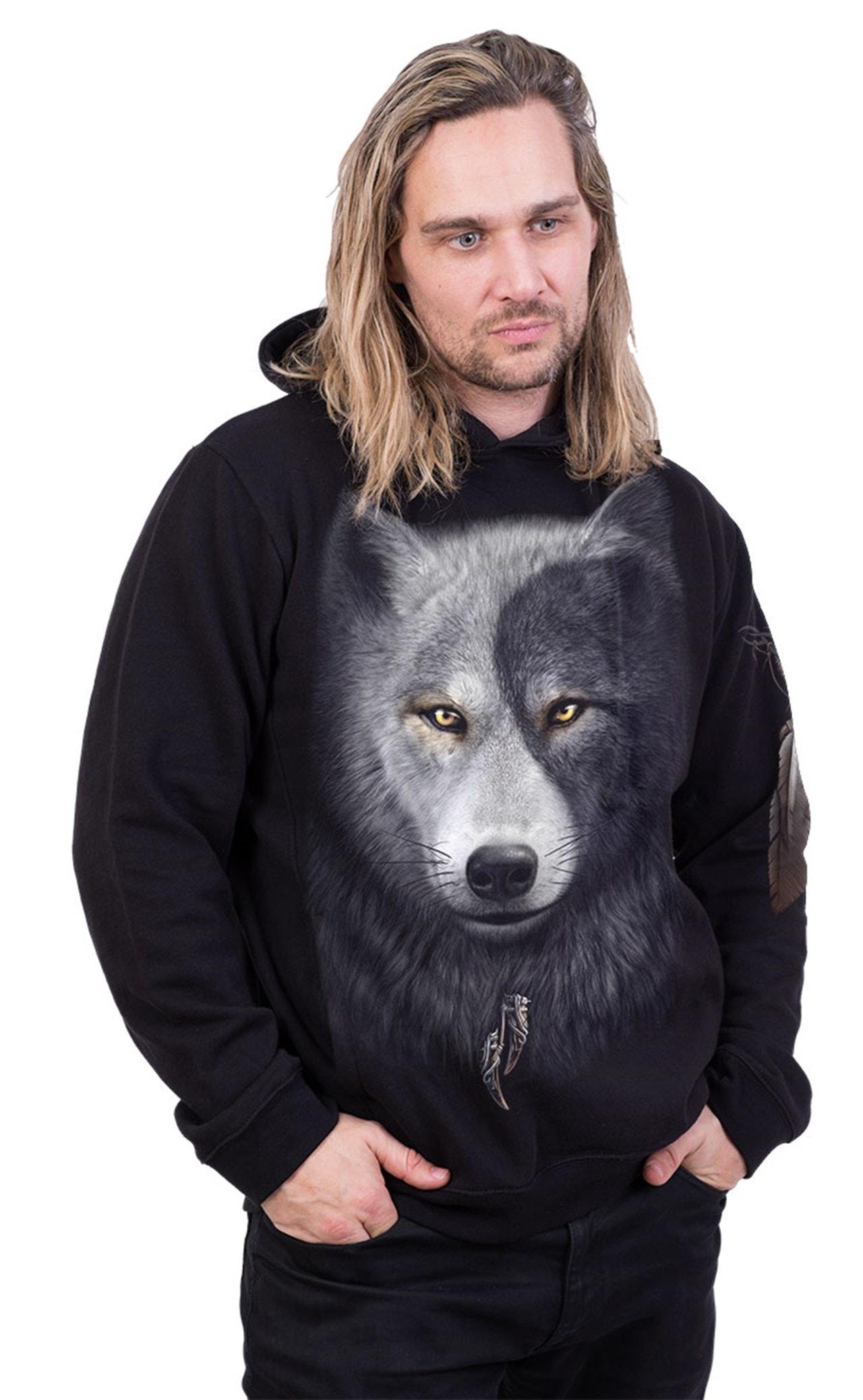 Spiral: Hoodie Wolf Chi: Side Pocket Hoodie (Extra Large) - 3