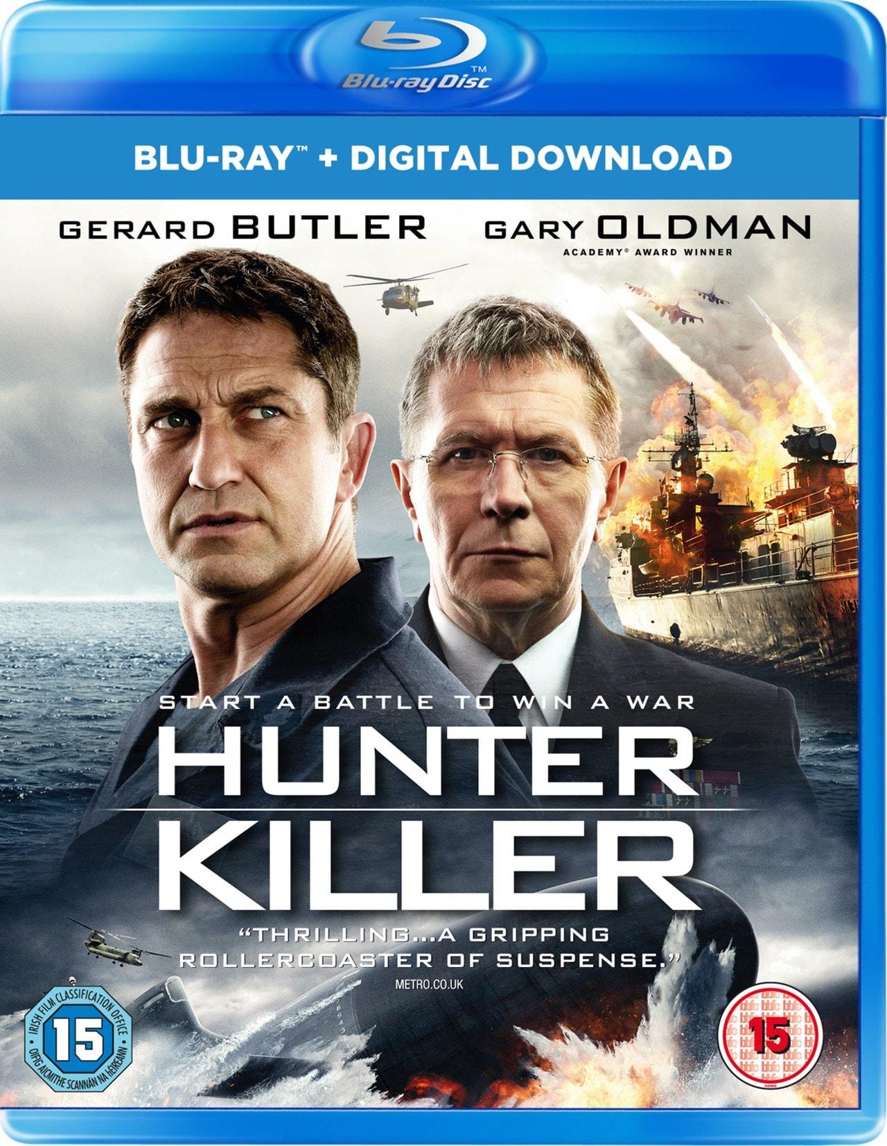 Hunter Killer Blu Ray Free Shipping Over 20 Hmv Store