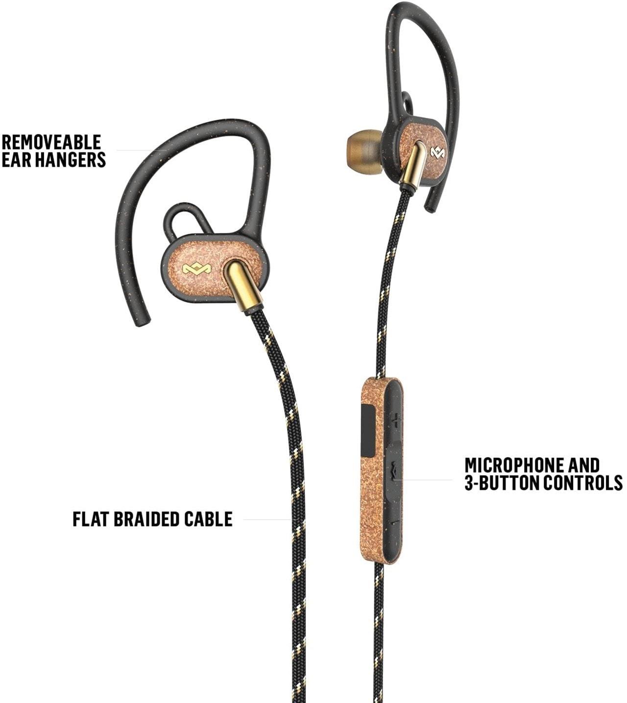 House Of Marley Uprise Brass Bluetooth Sports Earphones - 2