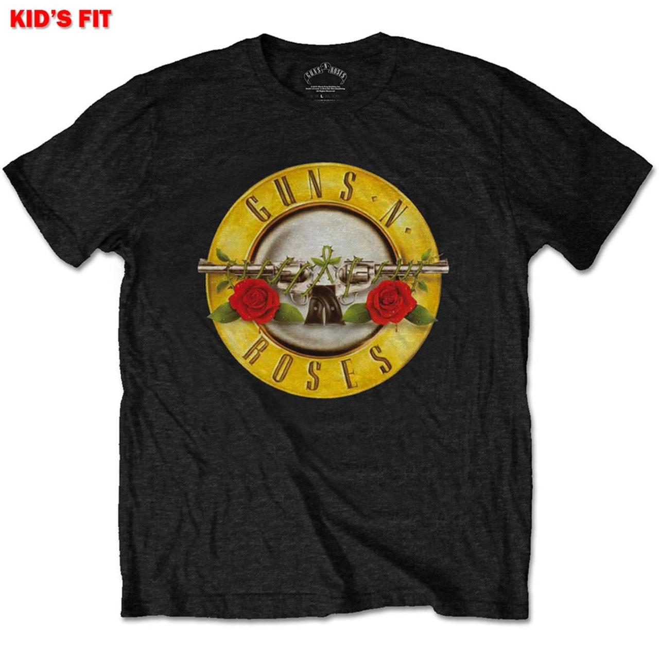 Guns N' Roses: Classic Logo (Kids Tee) (7-8YR) - 1