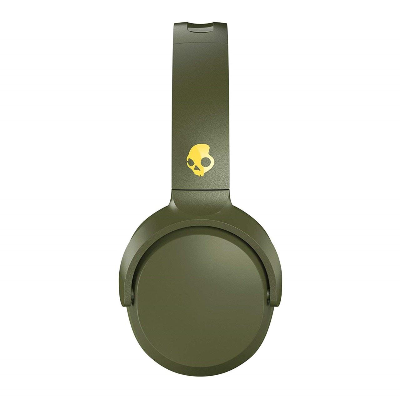 Skullcandy Riff Moss/Olive/Yellow Bluetooth Headphones - 3