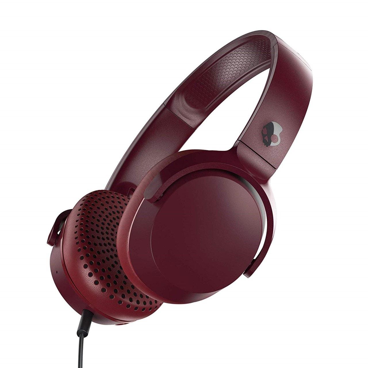 Skullcandy Riff Moab Red Headphones - 1