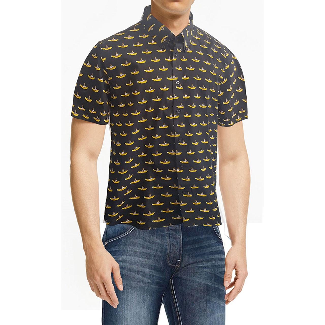 Beatles: Yellow Submarine Casual Shirt (Extra Large) - 1