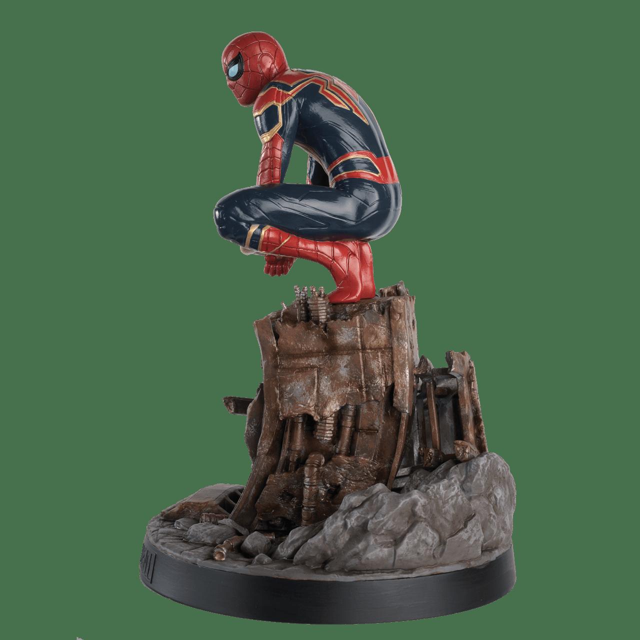 Spiderman on Roof: Marvel Mega Figurine: Hero Collector - 4