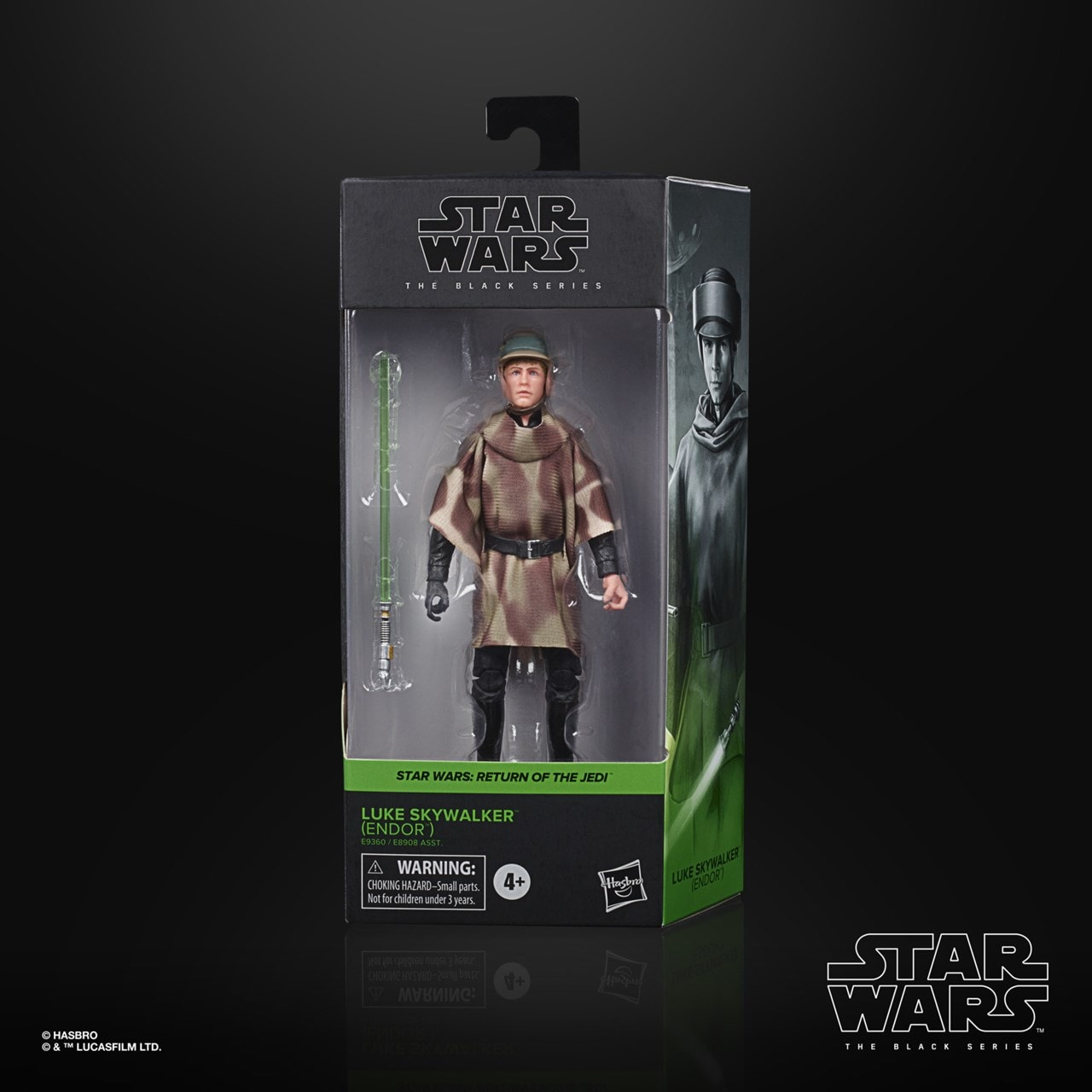 Luke Skywalker: Episode 6: The Black Series: Star Wars Action Figure - 4